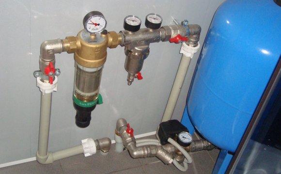 Фото водоснабжения частного