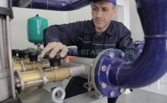 Насосные станции водоснабжения